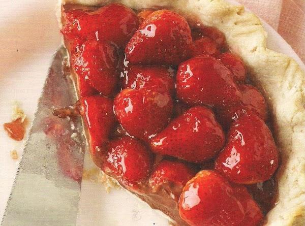 Strawberry Truffle Pie Recipe Just A Pinch Recipes