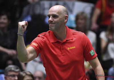 Coupe Davis : Johan Van Herck est fier de ses joueurs