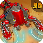 Spore Monsters.io 3D Icon