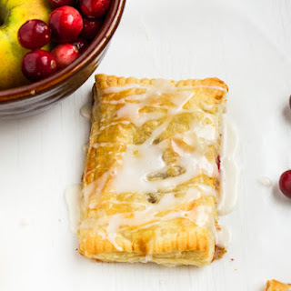 Cranberry Apple Breakfast Pastries.