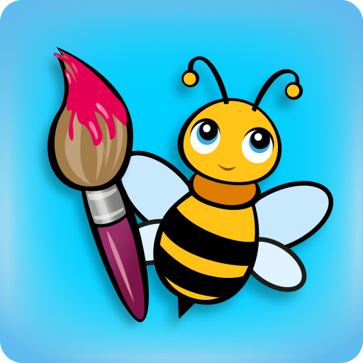 BeeArtist - Drawing game. For Kids and Toddlers.