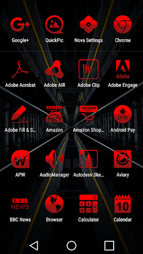 Tap Red - Icon Pack cheat hacks