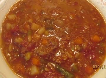 Minestrone Soup - My Fav Minestrone Soup Recipe
