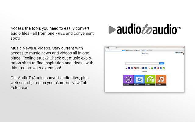 AudioToAudio - for Chrome