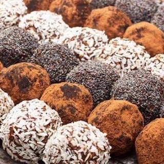 Chocolate Sweets With Walnuts