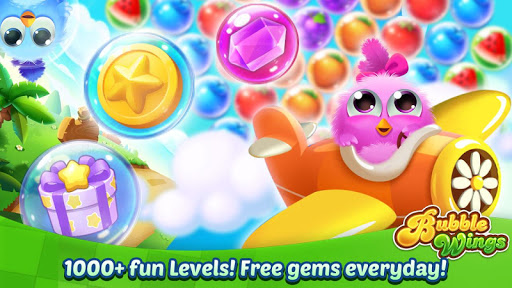 Bubble Wings: offline bubble shooter games 2.3.0 screenshots 15