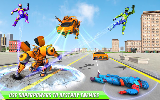 Deer Robot Car Game u2013 Robot Transforming Games apktram screenshots 9