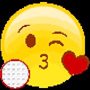 Emoji Color by Number-Emoji Pixelart-Drawing Paint