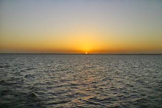 Photo: Sunset in Lake Nasser