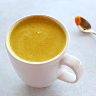Golden Milk Turmeric Ginger Latte.
