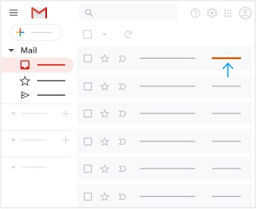 Important mail is listed first