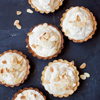 Almond and Coffee Cream Mini Tarts Recipe