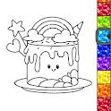 Unicorn Glitter Coloring Book: Coloring Unicorn🦄 icon