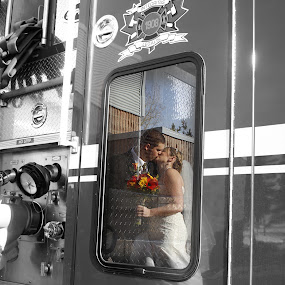 Burning Love by Joanna Vandervalk - Wedding Bride & Groom