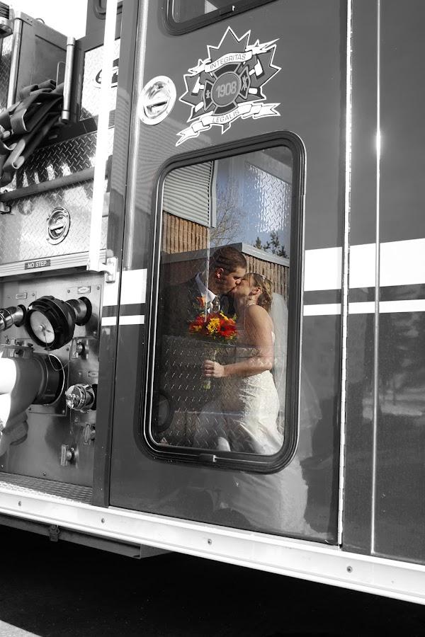 Burning Love by Joanna Vandervalk - Wedding Bride & Groom
