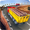 Uphill Offroad Truck Driver Cargo Transport Game icon