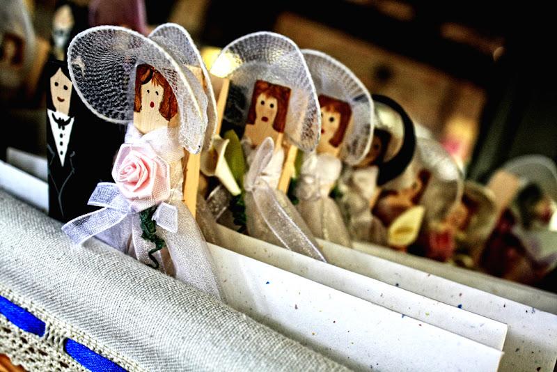 Sposini in miniatura di Alessandro Peisino