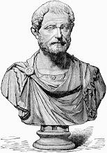 Photo: Caius Iulius Restitutus, Curator of Sirona's temple in Aquae Mattiacorum (illustration from the Romanike series of historical novels)
