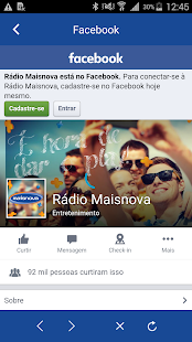 Rede Maisnova- screenshot thumbnail