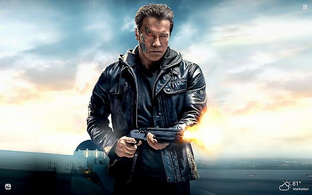 Terminator HD Wallpapers New Tab Theme