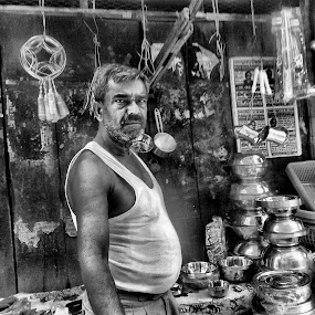 the stoic worker by Neil Mukhopadhyay - Instagram & Mobile Android