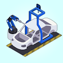 Poly Factory: Lowpoly Assembly Line upgrade game icon