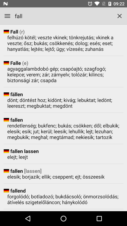 Hungarian Dictionary 🇭🇺- screenshot