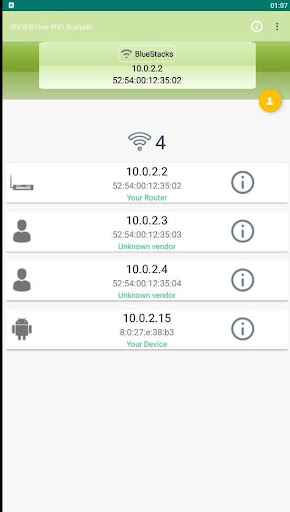 NetCut Free-WiFi Analyzer 2.3.5 screenshots 5