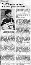 Photo: R1M Robert Rostoucher avant le derby contre le TFOC