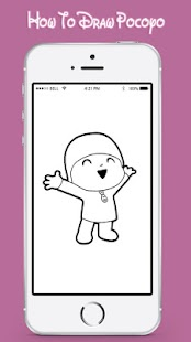 How To Draw Pocoyo For Fun - náhled