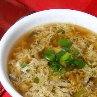 Mushroom Egg Drop Soup Recipes.