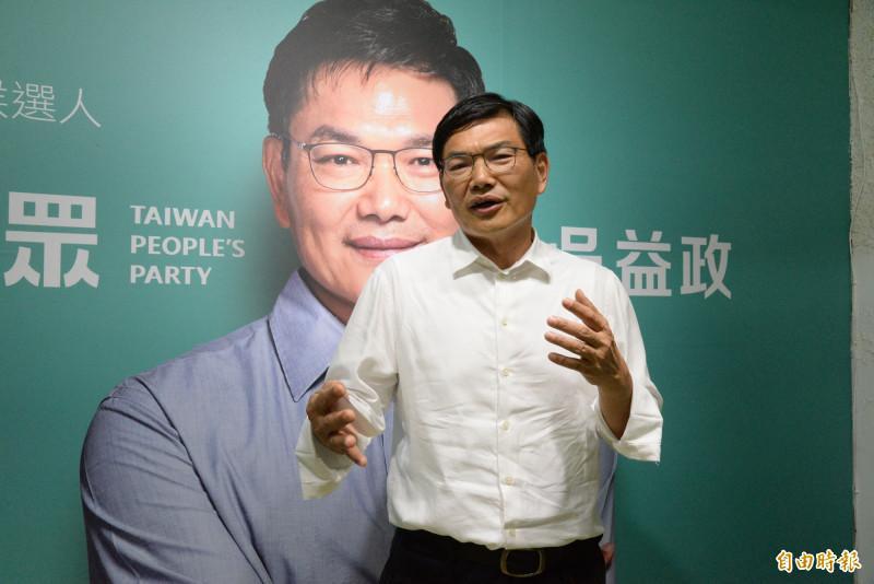 吳益政認為台灣政治人物普遍沒有基本素養。(資料照)