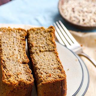 Gluten Free Banana Bread made from Quinoa