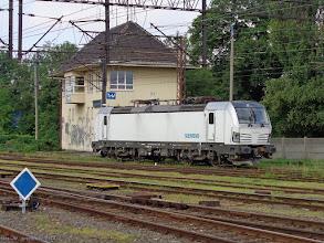 Photo: Siemens Vectron 91 51 5170 034-0 (Orlen KolTrans) {Toruń Wschodni; 2014-06-17}