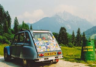 Photo: Slovenia layby