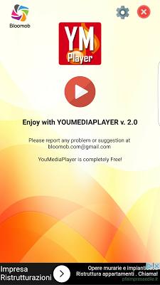 YouMediaPlayer - screenshot