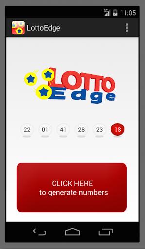 Lotto Edge - Number Generator