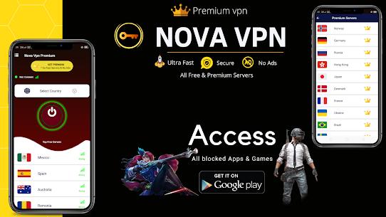 NovaVPN For Pc – Free Download for Windows 10, 8, 7 7