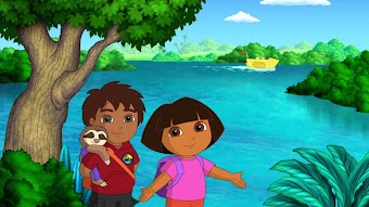 Dora and Diego's Amazing Animal Circus Adventure