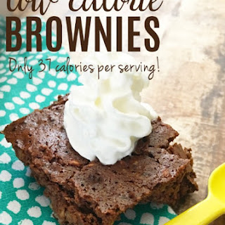 Low Calorie Brownies.