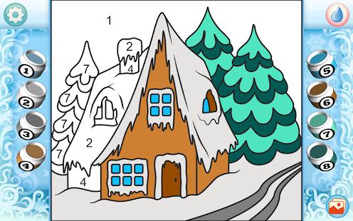 Рисуй по номерам - Рождество_4