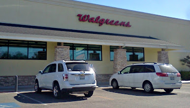 Photo: I brought my son and daughter with me, we come to this Walgreens at least once a week.