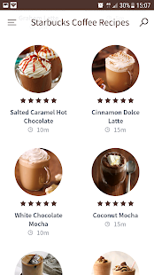 Starbucks Coffee Recipes Screenshot