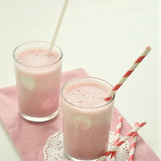 Strawberry Polka-dot Milkshakes