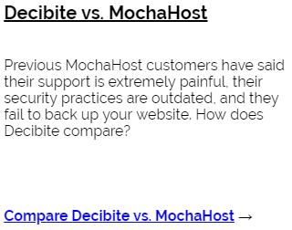 A MochaHost Alternative That's Faster (2019)