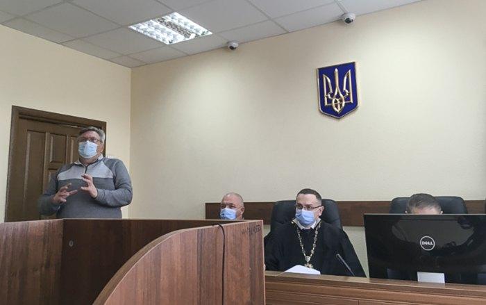 Головуючий суддя Євген Мартинов і присяжні. 10.03.2021