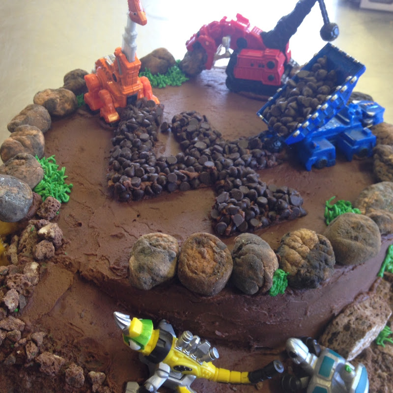 Custom Dino Trux Cake Third Coast Bakery At 523 Munson