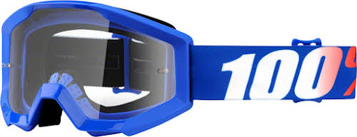 100% Strata Youth Goggle: Nation with Clear Lens
