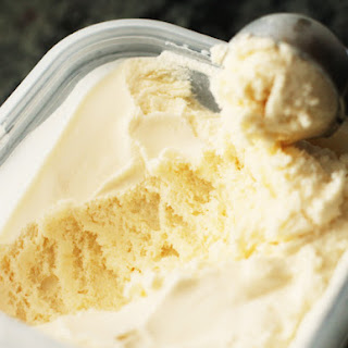 Easy Homemade Vanilla Ice Cream.