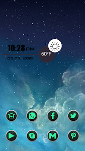 Black Grid Icon Pack screenshot 1